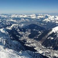 Photo taken at L'Aiguille du Midi (3842m) by Alex on 3/1/2012