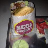 Photo taken at Mega Burger's by Rodrigo R. on 2/12/2012