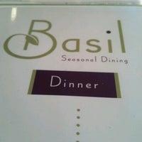 Photo taken at Basil by Matthew G. on 8/12/2012