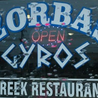 Photo taken at Zorba's Gyros by Bruce H. on 4/4/2012
