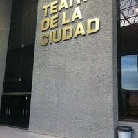 Photo taken at Teatro de la Ciudad by Adrián M. on 4/27/2012