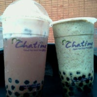 Photo taken at Chatime by Vinz A. on 9/11/2011
