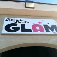 Photo taken at Atomic April's GLAM Salon by AtomicApril on 8/18/2011