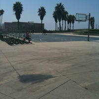 Photo taken at Venice Beach Basketball Courts by mc s. on 9/13/2011