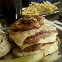 Photo taken at Black Iron Burger by Marcy E. on 10/30/2011
