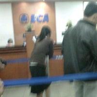 Photo taken at Bank BCA Cabang PTC by Citra ❤. on 10/10/2011