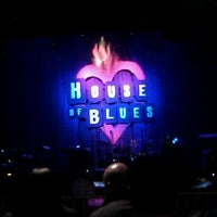 Photo taken at House Of Blues by Lina B. on 12/11/2011