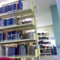 Photo taken at Biblioteca Central by Fernanda L. on 6/18/2012