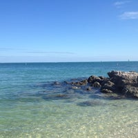 Photo taken at Fort Zachary Taylor State Park Beach by Cherise G. on 10/23/2011