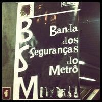 Photo taken at Estação Brás (Metrô) by Renato S. on 6/26/2012