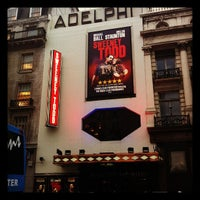 Photo taken at Adelphi Theatre by Steve B. on 4/4/2012