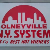 Photo taken at Olneyville New York System Restaurant by kevin f. on 6/14/2011