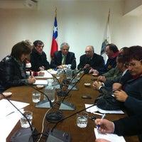 Photo taken at Sala De Concejo Municipal Talcahuano by Gaston S. on 7/7/2012