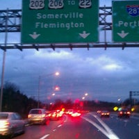 Photo taken at I-287 by ANDREW on 11/23/2011