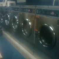 Photo taken at Triboro Laundromat by Ann on 5/10/2012