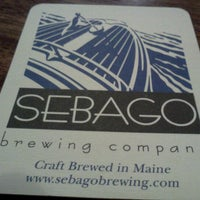 Photo taken at Sebago Brewing Company by Don L. on 11/18/2011