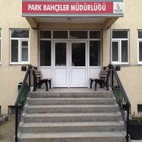 Photo taken at Park ve Bahçeler Müdürlüğü by Can K. on 3/15/2012