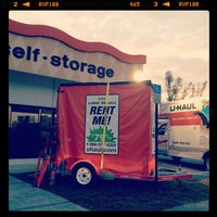 Photo taken at U-Haul Moving & Storage of Five Points by Jake S. on 5/4/2012