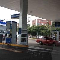 Photo taken at Gasolinera Uno by Leonardo on 8/29/2012