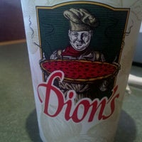 Photo taken at Dion's Pizza by C V. on 10/25/2011