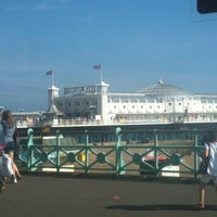 Photo taken at Brighton Palace Pier by Patricia P. on 8/12/2012
