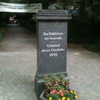 Foto scattata a Friedhofspark Pappelallee da Sven G. il 7/23/2012