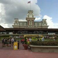 Photo taken at Walt Disney World Railroad - Main Street Station by Bill I. on 8/3/2012