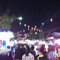 Photo taken at Chiang Rai Walking Street by Kolf on 2/12/2011