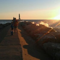 Photo taken at Holland State Park by Aaron C. on 10/26/2011