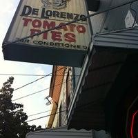 Photo taken at De Lorenzo's Tomato Pies by T D. on 8/5/2011