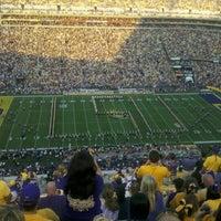Photo taken at Tiger Stadium by John M. on 9/10/2011