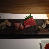 Photo taken at Sushi Azabu by Albert C. on 9/1/2012