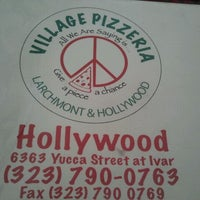 Photo taken at Village Pizzeria by Albert F. on 12/7/2011