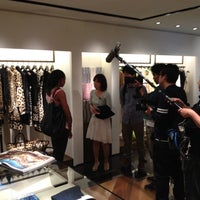 Photo taken at Roberto Cavalli Aoyama Boutique by Wes on 5/7/2012