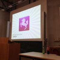 Photo taken at Hochschule der Medien by Dina4 w. on 3/29/2012