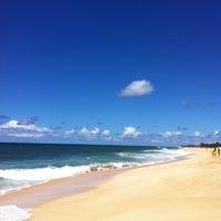 Photo taken at Sunset Beach Park by 575machi on 9/11/2011