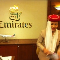 Photo taken at The Emirates Lounge (EK) by Meng on 2/3/2011
