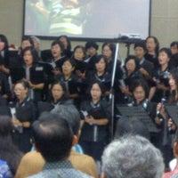 Photo taken at Gereja Kristen Indonesia (GKI) by Dicky J. on 3/4/2012