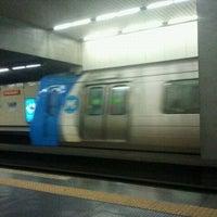 Photo taken at MetrôRio - Estação São Francisco Xavier by Elmer D. on 1/14/2012