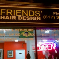 Photo taken at Friends Hair Design by Marcos C. on 10/3/2011