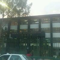 Photo taken at Preparatoria 1 Adolfo Lopez Mateos by Gabs on 5/8/2012