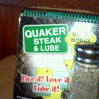 Photo taken at Quaker Steak & Lube by Jonathan R. on 7/8/2011