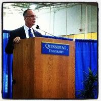 Photo taken at Quinnipiac Athletic and Recreation Center by Quinnipiac U. on 8/22/2012