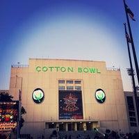Photo taken at Cotton Bowl by Zane A. on 10/19/2011