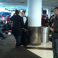 Photo taken at Gate D5 by Lou V. on 12/26/2011