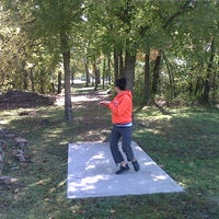 Photo taken at Blackhawk Disc Golf Course by Avery J. on 10/28/2011
