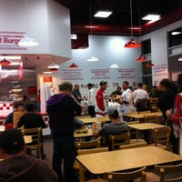 Photo taken at Five Guys by Jackie B. on 11/21/2011