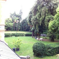Photo taken at Ostello della Gioventù Villa Francescatti by Collin Z. on 6/5/2012