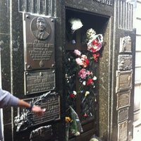 Photo taken at Mausoleo de Eva Perón by Paulo J. on 6/27/2012