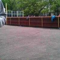Photo taken at Школа №1287 by Polina K. on 5/14/2012